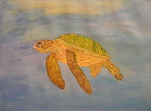 Sea Turtle watercolor
