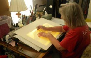Lightboard Tracing 1