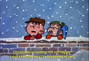 Charlie Brown Not Happy