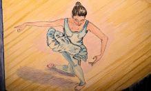 Bowing Ballerina
