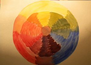 Crazy Color Wheel
