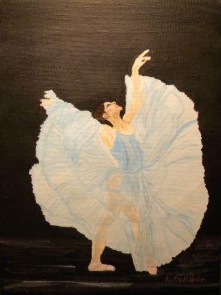 Ballerina Looking Up