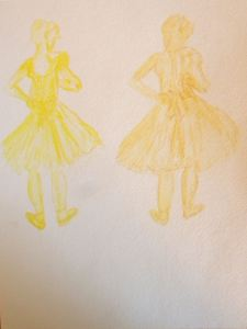 Degas Copies in Yellow