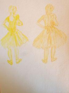 Degas Copies in Yellow