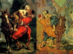 Delacroix and Van Gogh's Good Samaritan
