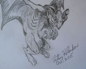 Gargoyle Close-up 2