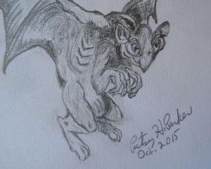 Gargoyle Close-up 2