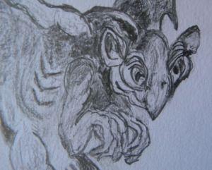 Gargoyle Close-up