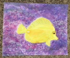 Yellow Tang for Earlene